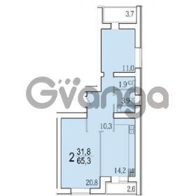 Продается квартира 2-ком 65 м² лозицкой ул.,1