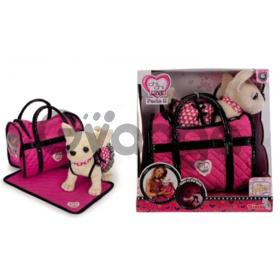 Собачка Чихуахуа Chi Chi Love Розовая мечта с ковриком и сумочкой