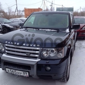 Land Rover Range Rover Sport, I Supercharged 4.2 AT (390 л.с.) 4WD 2008 г.