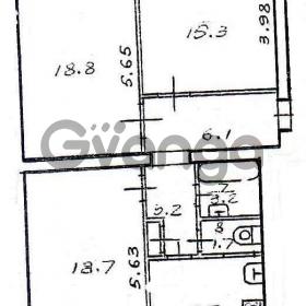 Продается квартира 2-ком 77 м² Чапаева Ул. 4, метро Бульвар Дмитрия Донского