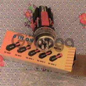 Универсальная отвертка 8в1 с фонариком Screwdrivers
