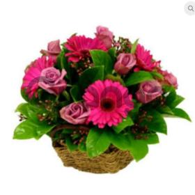 """Цветы букет """"Розовый вечер"""""""