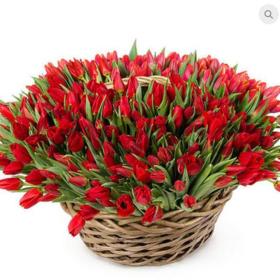 """Цветы букет """"Рубин"""""""