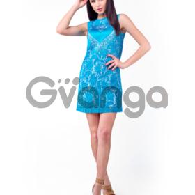 Платье с атласным сердцем 1518