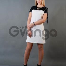 Стильное мини-платье 1542
