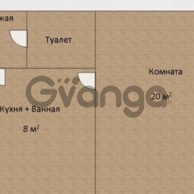 Продается квартира 1-ком 30 м² Потёмкина
