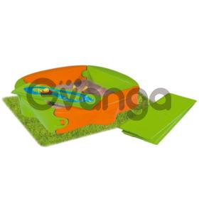 Песочница  Big с пластиковым покрытием 005 6738