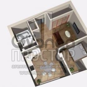 Продается квартира 2-ком 80 м² Заречная улица, 5вл1