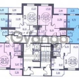 Продается квартира 2-ком 63 м² Рязановское шоссе, 21