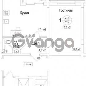Продается квартира 1-ком 44 м² Майский проезд
