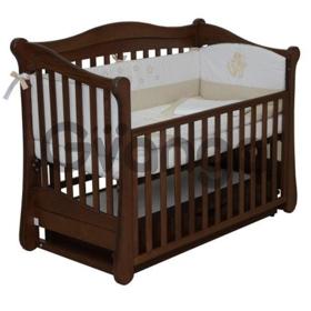 Детская кровать Верес Соня ЛД18 маятник с ящиком