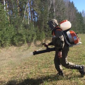 Обработка участка и водоема от комаров