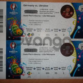 Срочно продам билеты на Чемпионат ЕВРО2016 по футболу