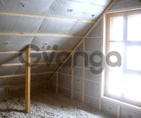 Утепление эковатой домов, каттеджей, дач  (полов, фасадов, крыш, потолков ) в Новосибирске и области.