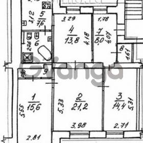 Продается квартира 4-ком 118 м² Московский проспект, 153, метро Парк Победы