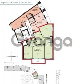 Продается квартира 3-ком 130 м² ул. Красуцкого улица, 3, метро Фрунзенская