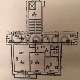 Продается квартира 2-ком 46 м² Турку улица, 11 к1, метро Международная