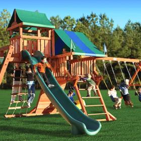 постройка детской площадки