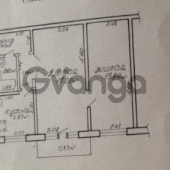 Продается квартира 2-ком 45 м² пр. Речицкий , 10А