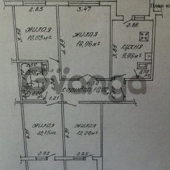 Продается квартира 4-ком 75 м² ул. Осипова , 15