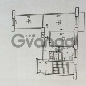 Продается квартира 3-ком 58.7 м² Билибина ул.