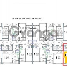 Продается квартира 1-ком 38 м² Старошоссейная