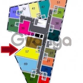 Продается квартира 2-ком 57 м² Курортный проспект
