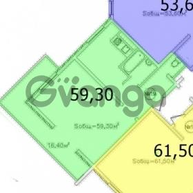 Продается квартира 2-ком 59 м² Малый Ахун