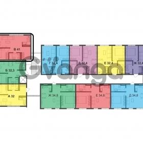 Продается квартира 1-ком 41 м² Пластунская ул.