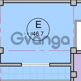 Продается квартира 1-ком 47 м² Искра