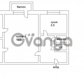 Продается квартира 3-ком 64 м² Цветной Бульвар