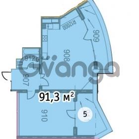 Продается квартира 1-ком 92 м² Курортный городок