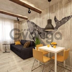 Продается квартира 1-ком 37 м² Докучаева