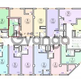 Продается квартира 1-ком 22 м² Гайдара ул.