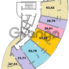 Продается квартира 2-ком 63 м² Учительская