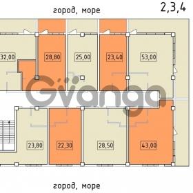 Продается квартира 1-ком 36 м² Высокогорная