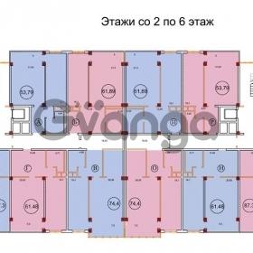 Продается квартира 2-ком 73 м² Гастелло