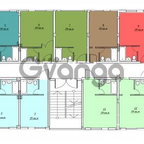 Продается квартира 1-ком 35 м² Буковая