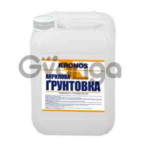 Грунтовка акриловая ТМ KRONOS  1л, 5л,10л