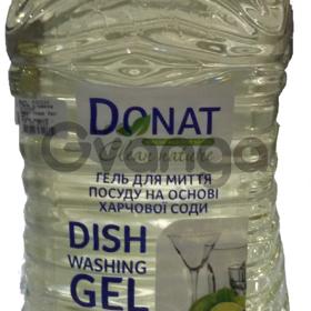 Жидкое моющее средство для посуды ТМ Donat 5л