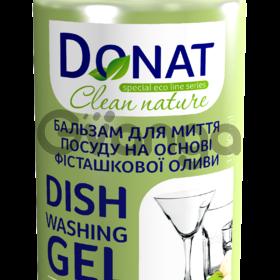 Бальзам для Мытья посуды на основе фисташкового масла ТМ Donat 1л, 5л