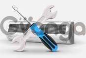 Чистка, обслуживание и ремонт кондиционеров