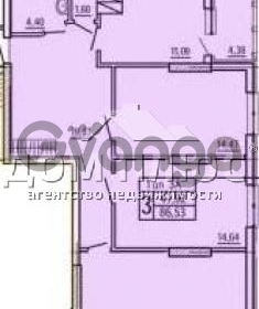 Продается квартира 3-ком 86 м² Шулявская