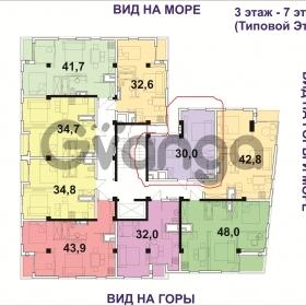 Продается квартира 1-ком 30 м² Коммунальная ул.
