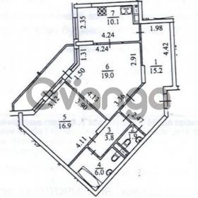 Продается квартира 2-ком 75 м² ул. Мейтуса Композитора, 4, метро Выставочный центр