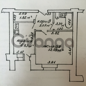 Продается квартира 1-ком 28 м² ул. Максима Богдановича , 12