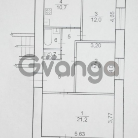 Продается квартира 3-ком 73 м² проспект Победы, 8
