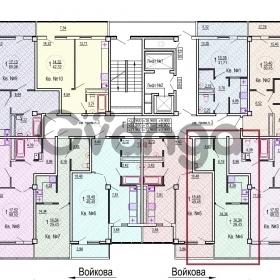 Продается квартира 1-ком 30 м² Войкова
