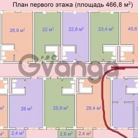 Продается квартира 1-ком 35.6 м² 20-ой горнострелковой дивизии