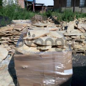 Купить камень для облицовки цоколя, забора, фасада на складе в Новосибирске